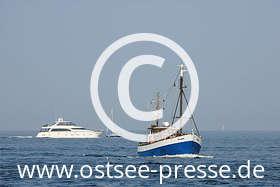 Ostsee Pressebild: Schiffe auf der Ostsee