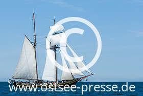 Ostsee Pressebild: Großsegler auf der Ostsee