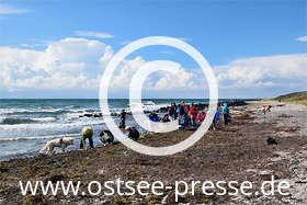 Ostsee Pressebild: Schatzsucher an der Ostsee
