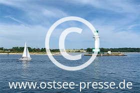 Ostsee Pressebild: Leuchtturm Friedrichsort