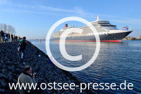 Ostsee Pressebild: Kreuzfahrtschiffe auf der Ostsee
