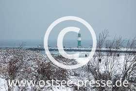 Ostsee Pressebild: Winterlandschaft