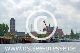 Ostsee Pressebild: Beeindruckende Backsteinarchitektur an der Ostsee