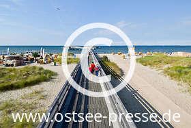 Ostsee Pressebild: Seebrücke an der Ostsee