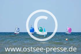 Ostsee Pressebild: Wassersport auf der Ostsee