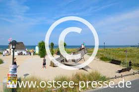 Ostsee Pressebild: Spielspaß an der Ostsee