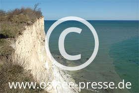 Ostsee Pressebild: Steilküste an der Ostsee