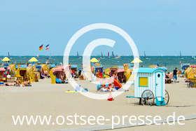 Ostsee Pressebild: Strandleben
