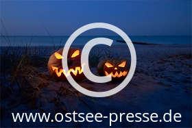 Ostsee Pressebild: Halloween an der Ostsee