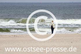 Ostsee Pressebild: Ostsee mit Wind und Wellen