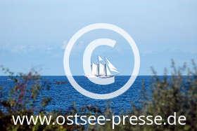 Ostsee Pressebild: Windjammer auf der Ostsee