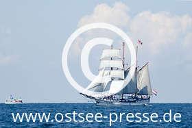 Ostsee Pressebild: Windjammertreffen an der Ostsee