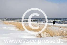 Ostsee Pressebild: Winter an der Ostsee
