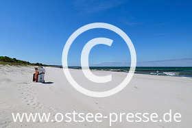 Ostsee Pressebild: Puderzuckerstrand